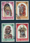 PAPUA NEW GUINEA 1964 ARTIFACTS Sg51-54 Used