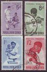 PAPUA NEW GUINEA 1964 HEALTH Sg57-60 Used set