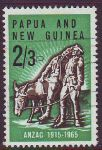 PAPUA NEW GUINEA 1965 ANZAC Sg76 Used