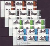 NEW ZEALAND 1979 ARCHITECTURE SG1188-91 IMPRINT BLOCKS MUH