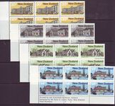 NEW ZEALAND 1980 ARCHITECTURE SG1217-20 IMPRINT BLOCKS MUH