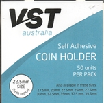 Coin Holder VST Self Adhesive Type 22.5mm
