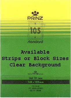 Prinz Mounts Clear 35mm - 55mm  25pcs