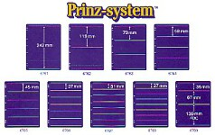 Prinz Stock Sheets SINGLE SIDED