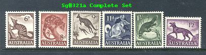 Sg#316-21 ANIMALS Set of 6