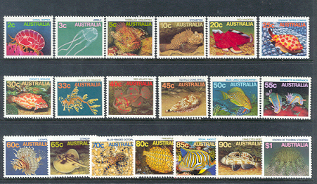 1984-86 Marine Life Definitives [19]