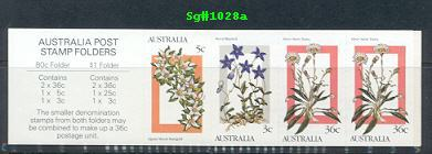 Sg#1028a Scott#996a 80¢ Wildflowers Pane