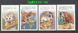 Sg#1233-36 Scott#1166-69 Animals of High Country
