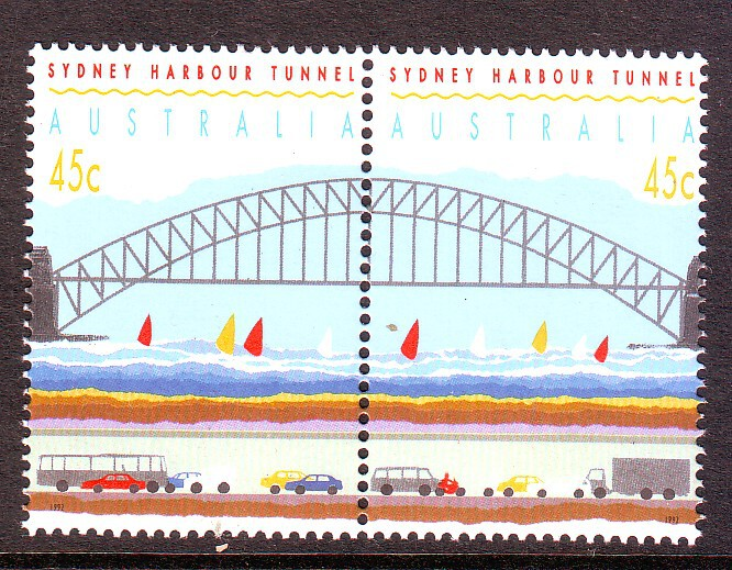 Sg#1375b Scott#1296c Sydney Harbour Tunnel