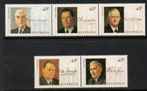 Sg#1470a Scott#1380 Wartime Prime Ministers