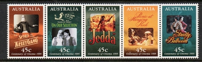 Sg#1530a Scott#1445a  Centenary of Cinema
