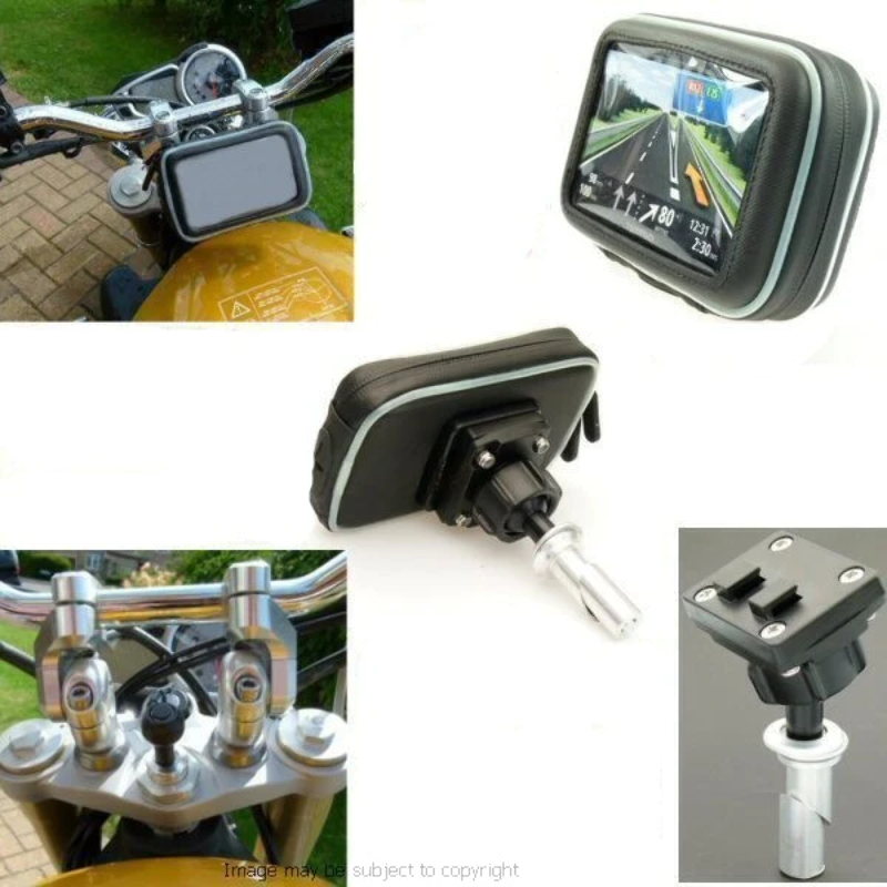 15-17mm motocicleta Stem Tenedor yugo alternativa de montaje para Garmin Zumo Series