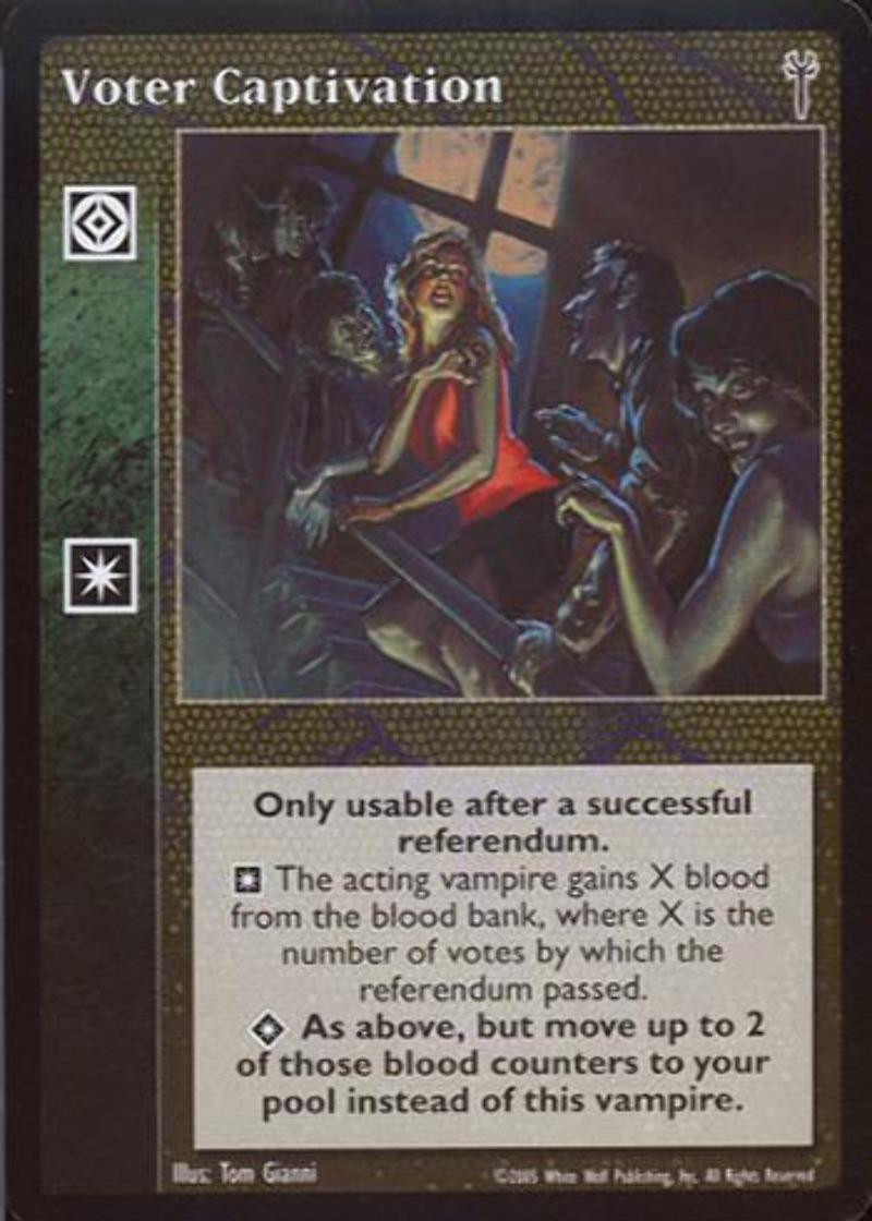 1x Powerbase Madrid Vampire Eternal Struggle VTES Jyhad