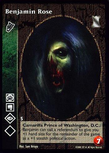 No BCP Reprint 1x Blanket of Night Vampire Eternal Struggle VTES Jyhad