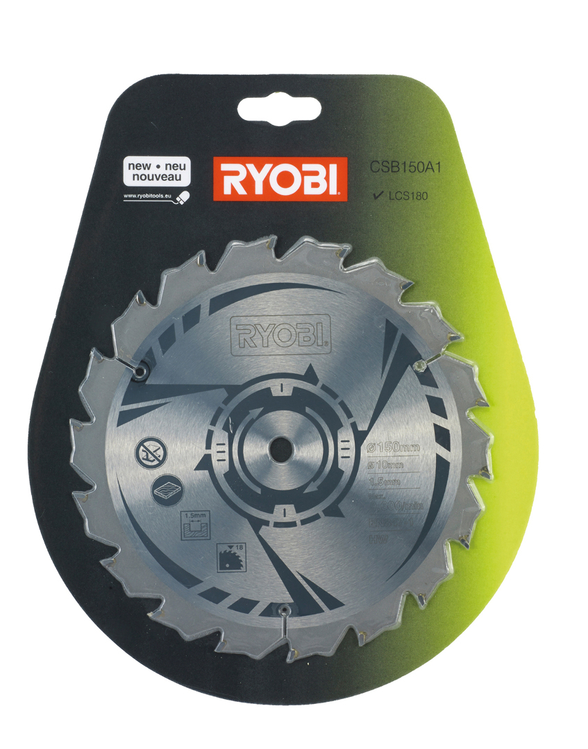 Ryobi csb150a1 150mm circular saw blade for rwsl1801m 4892210120465 ryobi csb150a1 150mm circular saw blade for rwsl1801m keyboard keysfo