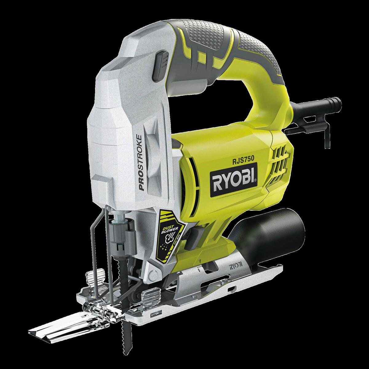 Ryobi RJS750-G Jigsaw with Line Assist 500 W