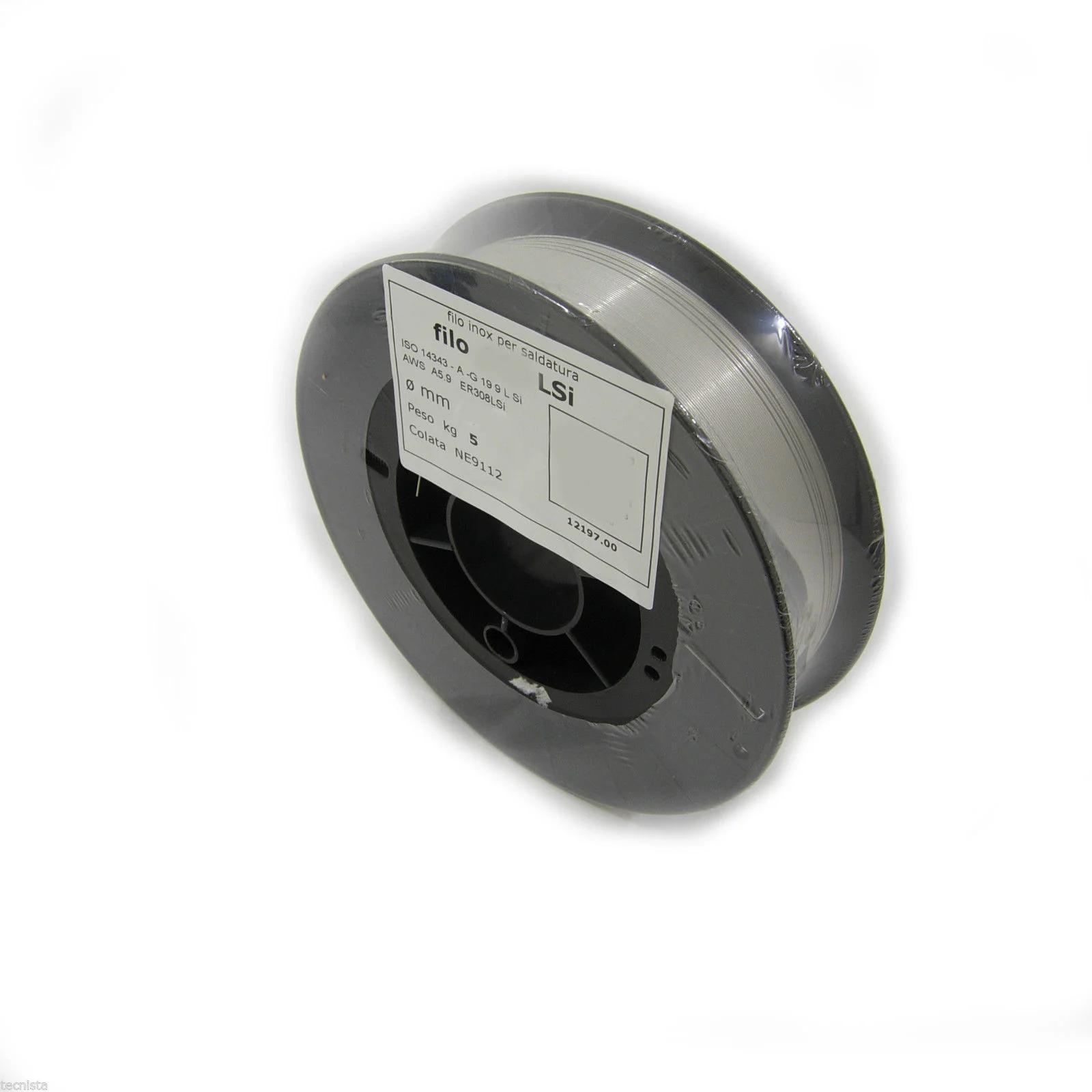 diametro di 0,8 mm 316LSi Filo per saldatura Filo in acciaio inox