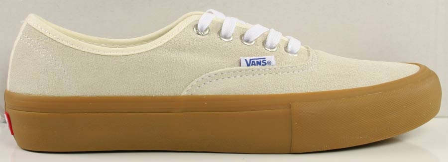 d5c21e6274 Vans Authentic Pro Shoes Mens in Classic White Light Gum