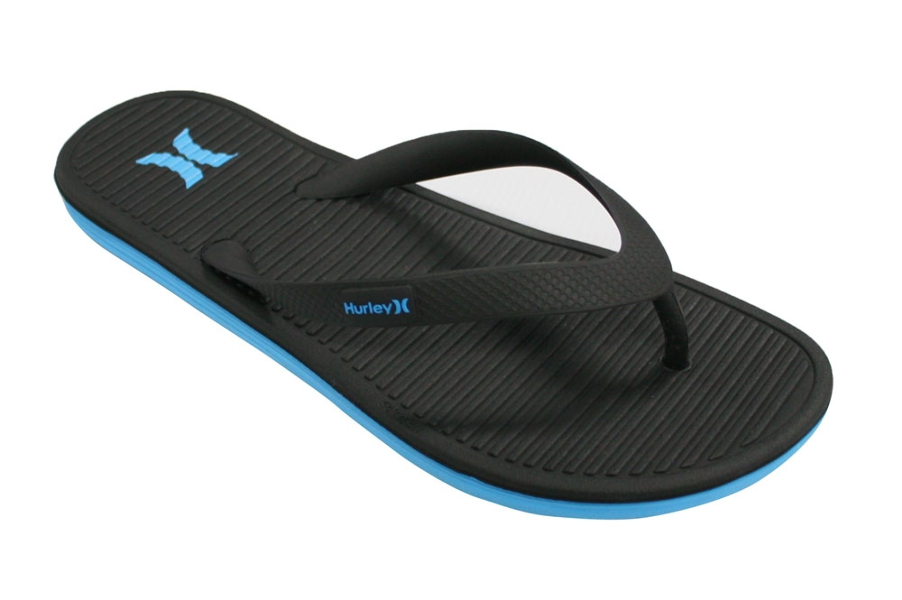 776d6ad6396f Hurley One Shot Sandal Mens in Cyan