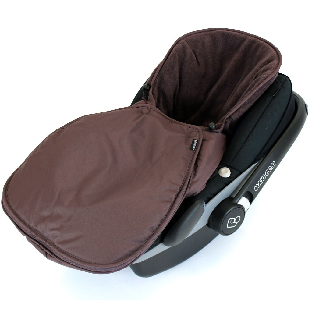 Universal Car Seat Footmuff Cosy Toes Maxi Cosi Pebble /& Cabrio Fix 4 X Colours