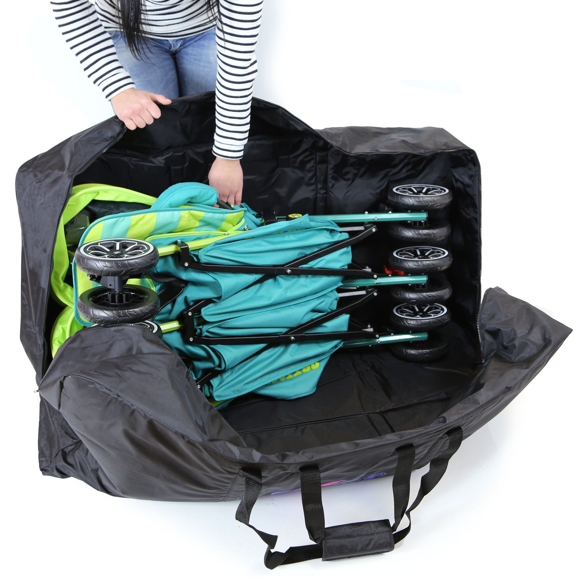 Transport Bag Twin Stroller Luggage Bag For Mamas /& Papas Kato Double Buggy