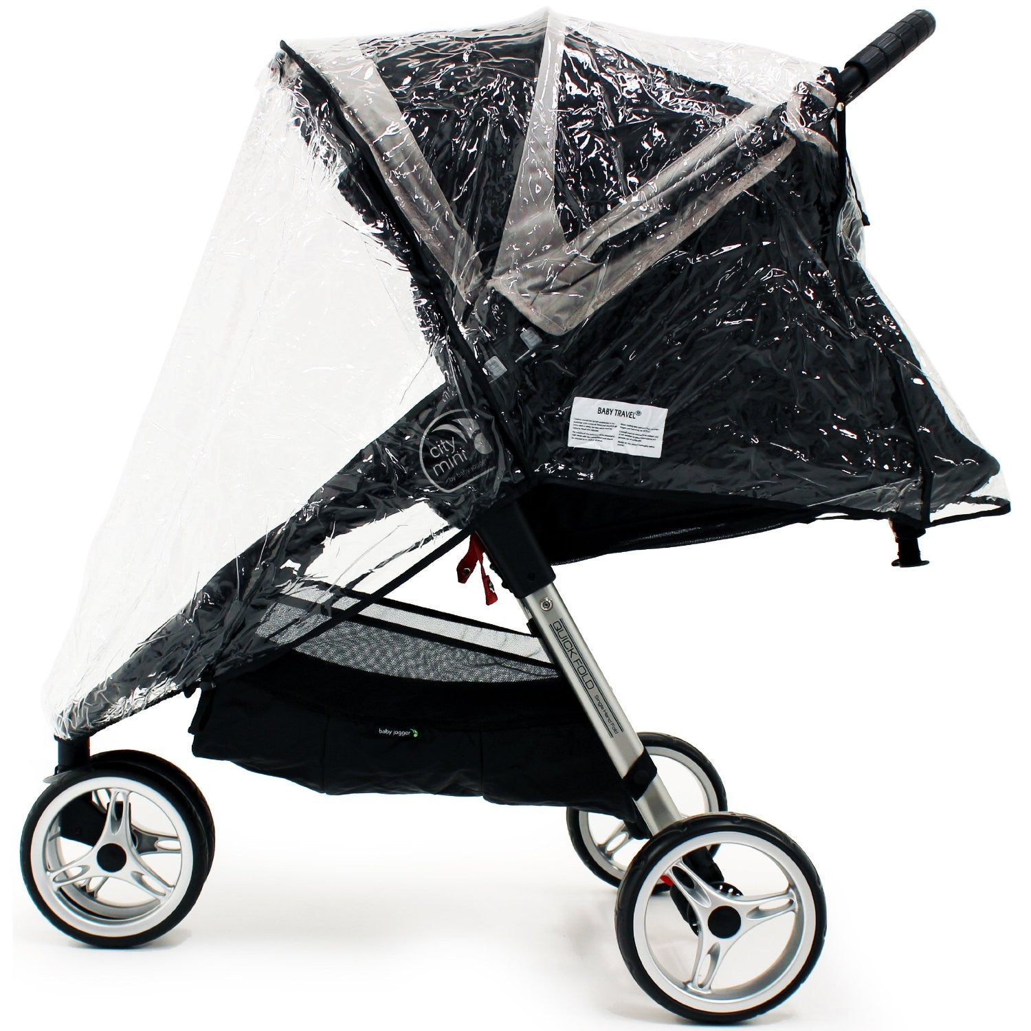 Buggy pushchair Heavy Duty Raincover  and wind protector For Quinny Zapp Xtra