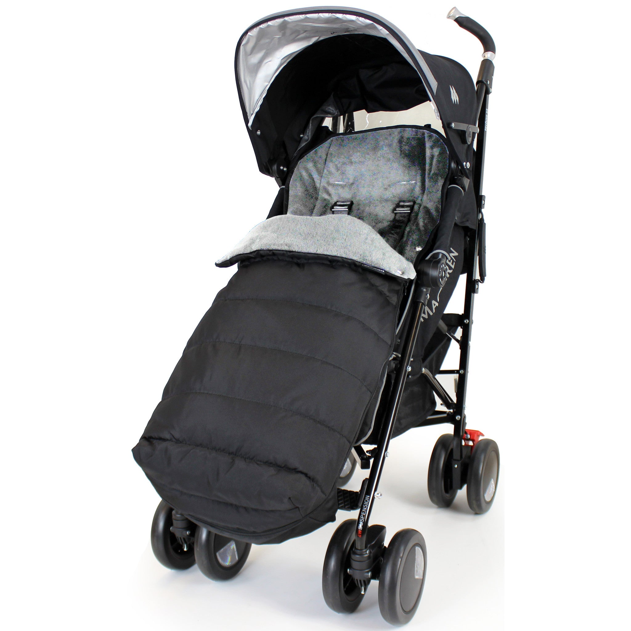 XL Universal Stroller Footmuff Warm Cosy Toes To Fit 99.9/% Of Strollers Padded