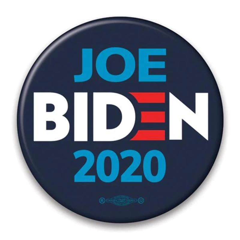 Joe Biden 2020 Campaign Pinback Button JB-302