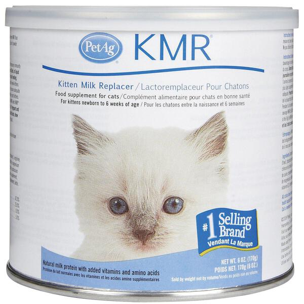 Kmr Natural Milk Kitten Formula Replacer Powder Cat Supplement 6oz Petag Ebay