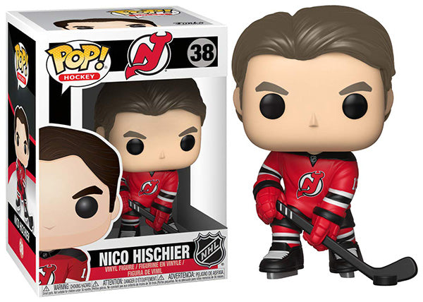 FunKo Free Shipping! Vinyl NHL: Devils Nico Hischier Pop