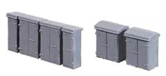 257 Ratio Relay Boxes N Gauge Plastic Kit