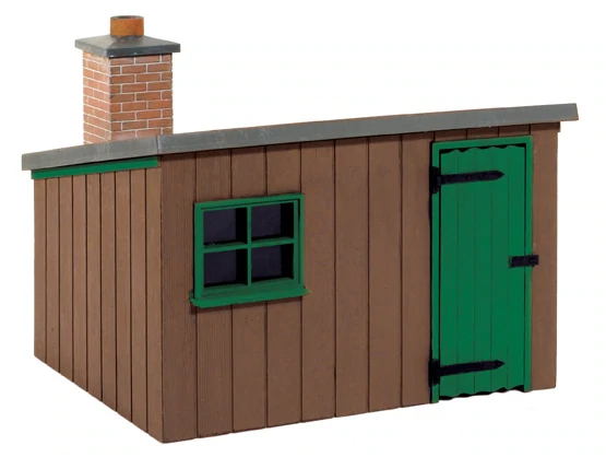 Wooden Lineside Hut /'O Gauge/' Plastic Kit New Peco LK-704