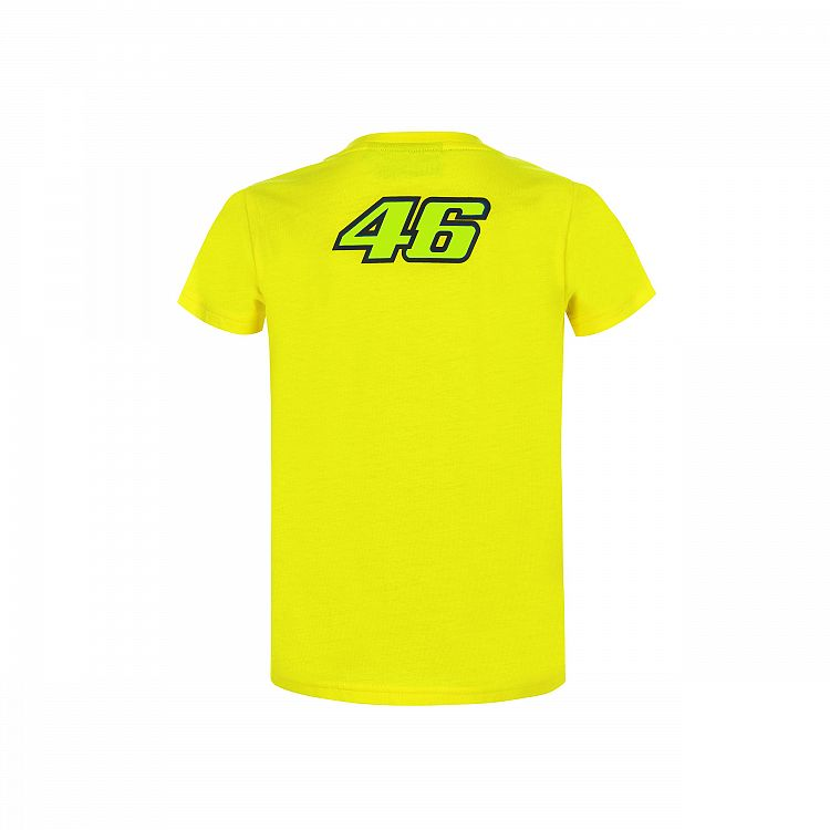 T-shirt 46 The Doctor yellow official collection Valentino Rossi Located in USA
