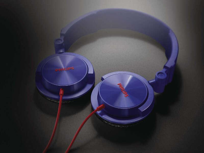 8da0f1968cd Philips Headphones Dj Monitor Style Shl3050 Purple | eBay