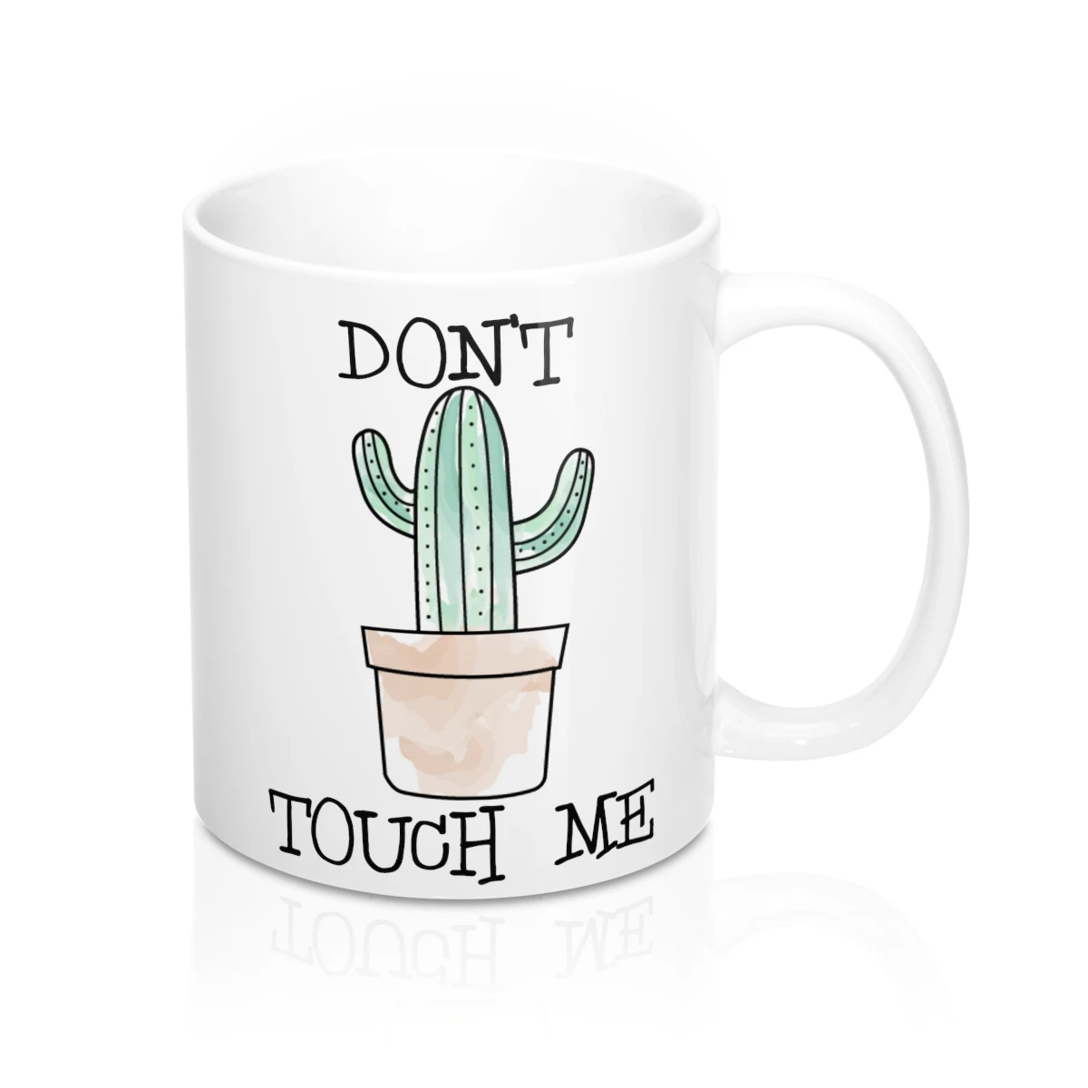 11oz Coffee Cup Bunch of Pricks Mug Don/'t be a Prick Mug Funny Cactus Mug