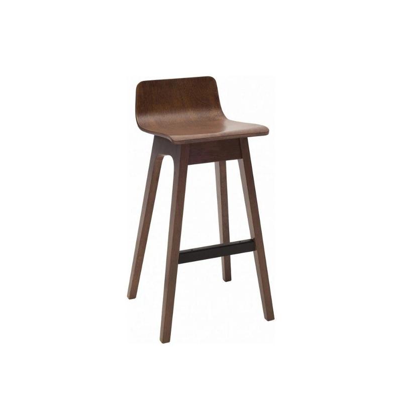 Sensational Details About Ava Low Back Bar Stool Walnut Modern Mid Century Scandinavian Barstool Wood Spiritservingveterans Wood Chair Design Ideas Spiritservingveteransorg