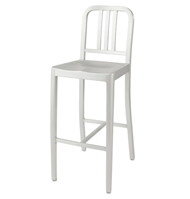Excellent Details About Oliver Counter Stool Aluminium Industrial Modern Commercial Restaurant Design Short Links Chair Design For Home Short Linksinfo