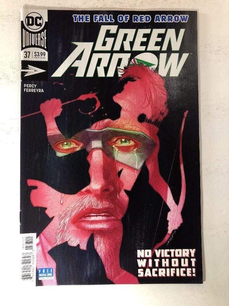 DC COMICS//2018 GREEN ARROW #36 JUAN FERREYRA ART /& MAIN COVER