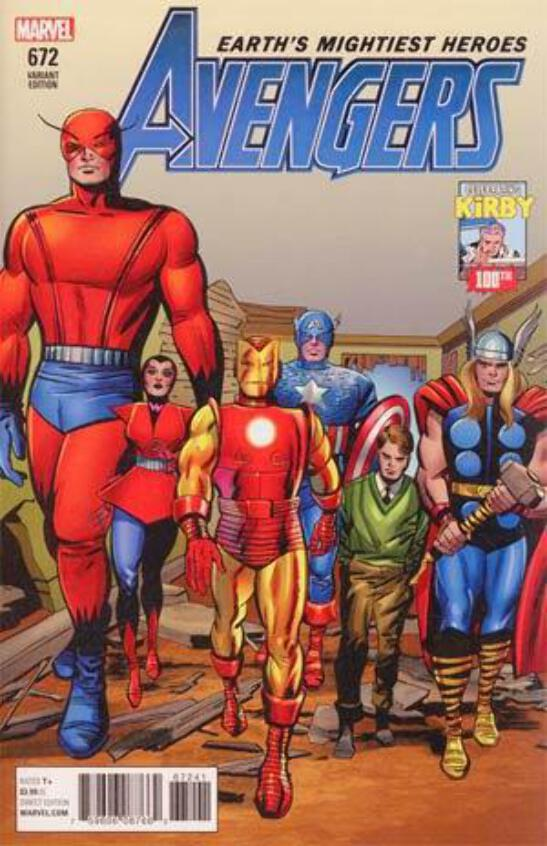MARVEL TWO-IN-ONE ISSUE 1 FIRST 1st PRINT JACK KIRBY 100th ANNIVERSARY VARIANT