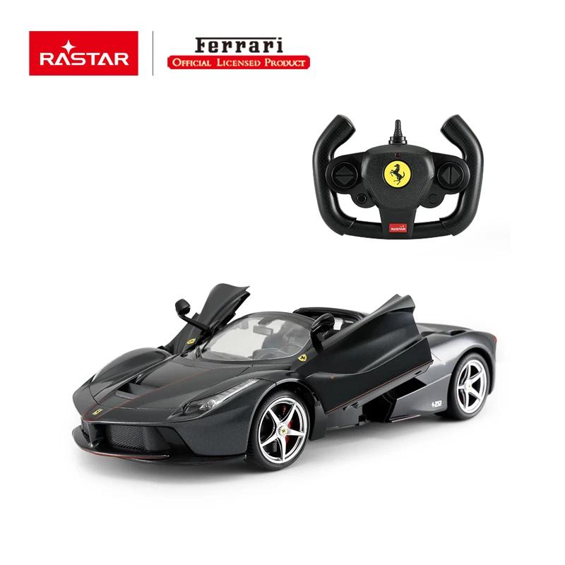 Rc 1 14 Ferrari Laferrari Aperta Kids Remote Control Toy Car Black Ebay