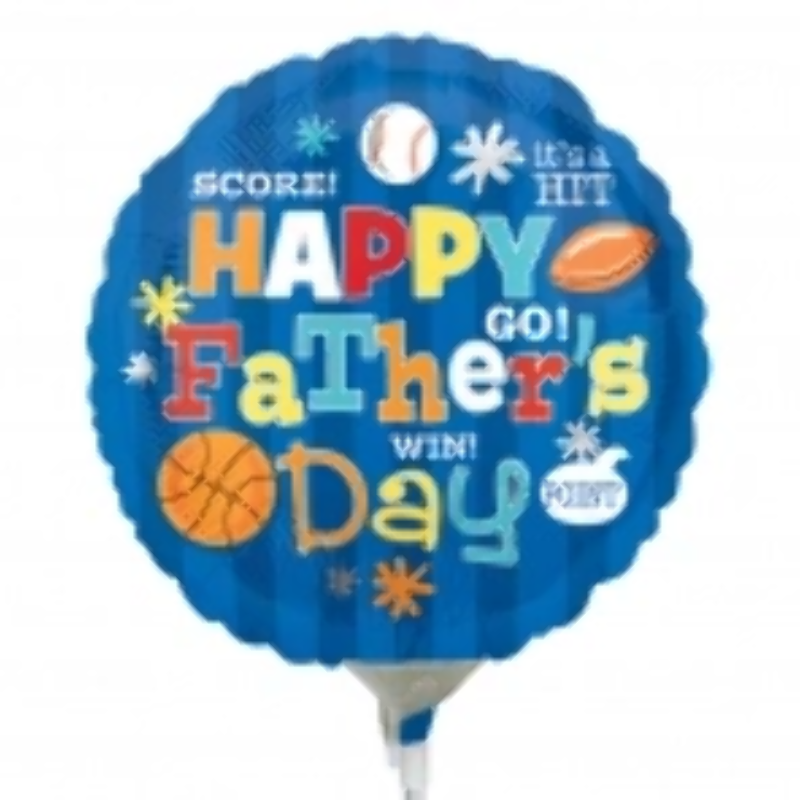 INFLATABLE DAD FOIL BALLOON Happy Father`s Day Birthday Gift Self GMFAT2798 UK