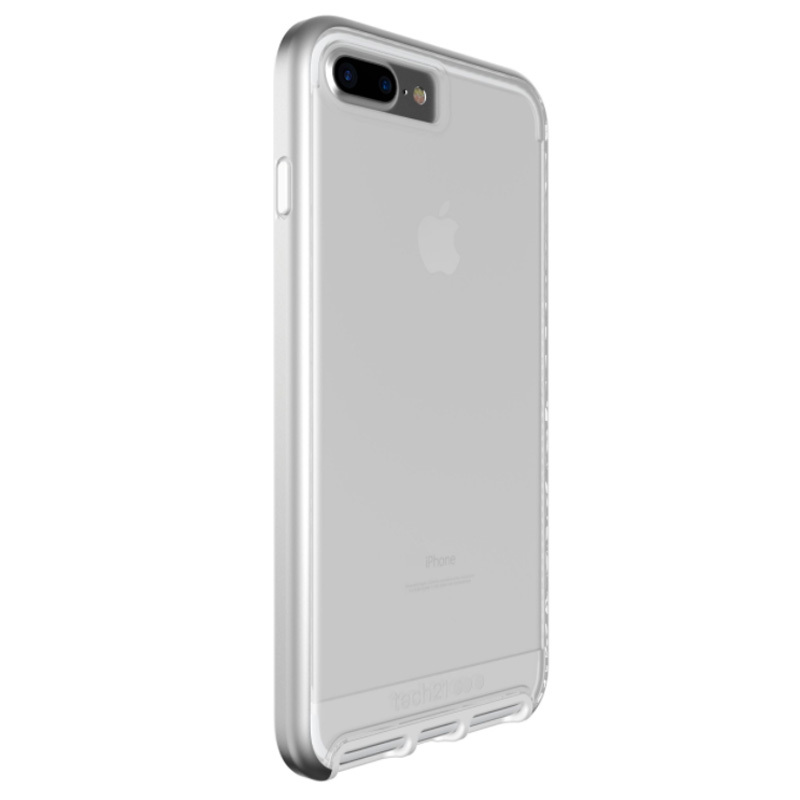 competitive price c979b 94448 Details about Tech21 Evo Elite Case For iPhone 7 Plus - Silver