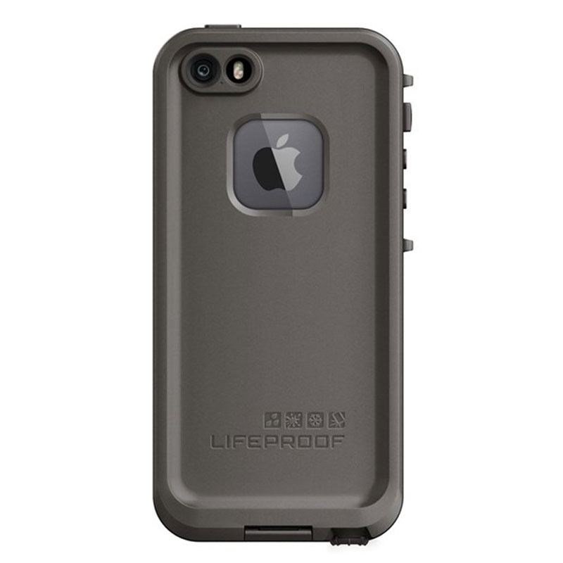 best cheap 7f9b0 1711c Details about Lifeproof FRE Case for Apple iPhone SE / 5S / 5 - Grind Grey