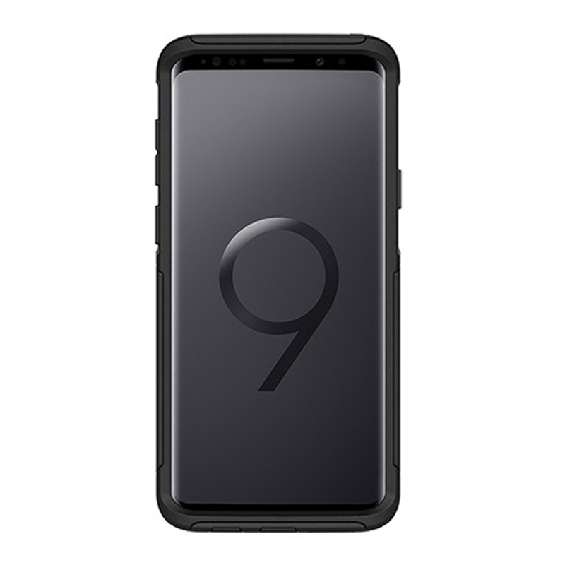 low priced d668e 1fed6 Details about Otterbox Commuter Case For Samsung Galaxy S9+ Plus - Black
