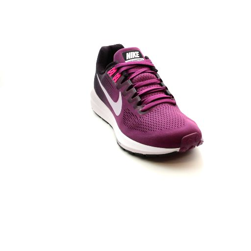 Nike - Women's Air Zoom Structure 21 - Tea Berry/Port Wine/Hyper Pink/Iced  Lilac