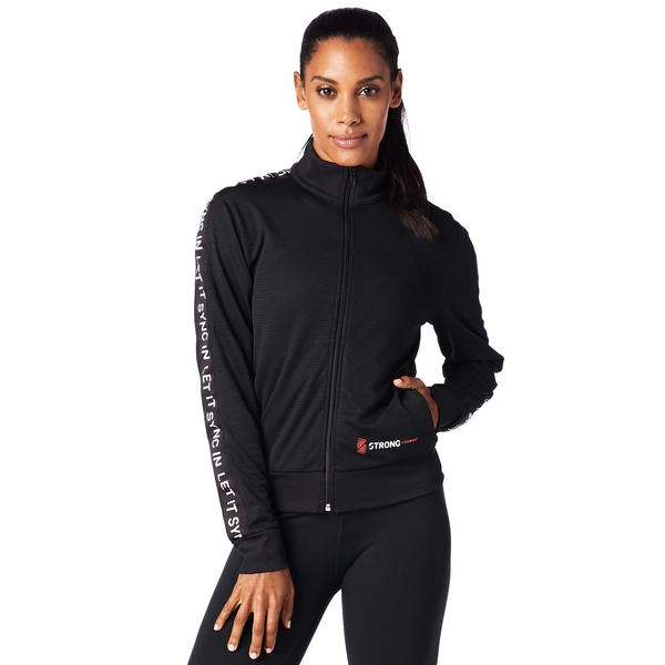 STRONG by Zumba Instructor Track Jacket - Back to Black Z1S00064  f4610278a1e