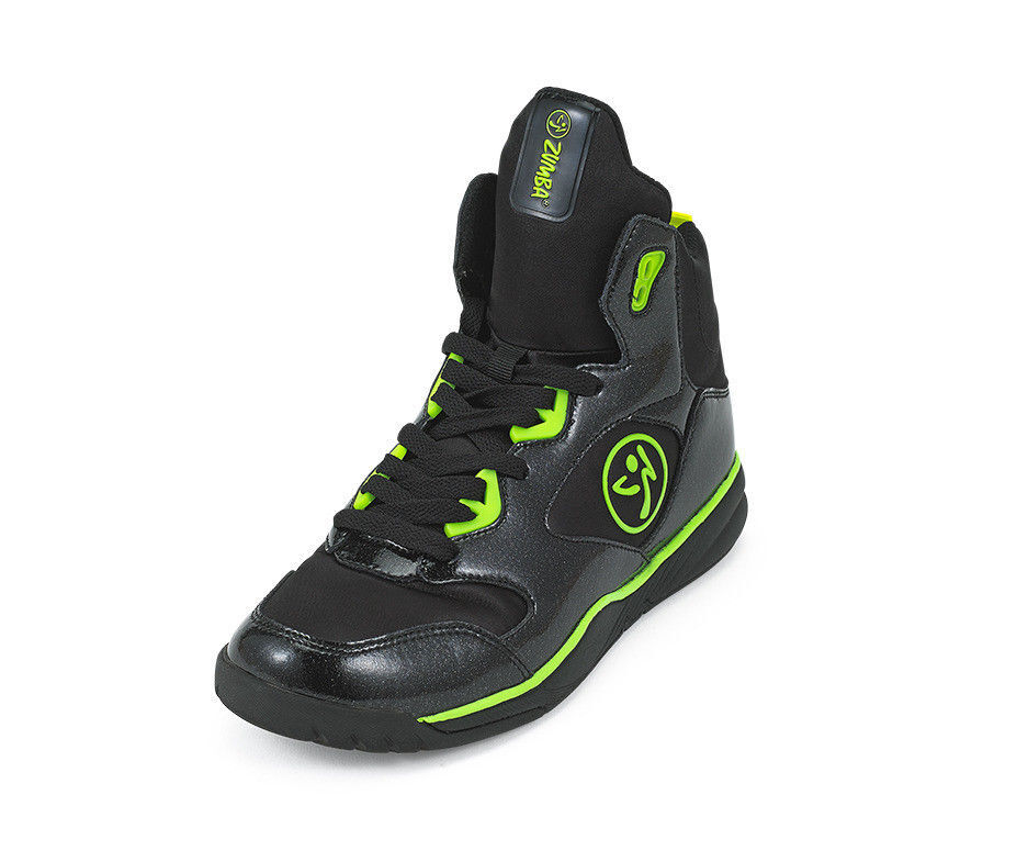 Back To Black A1F00046 Zumba Crew Street Charge Shoes