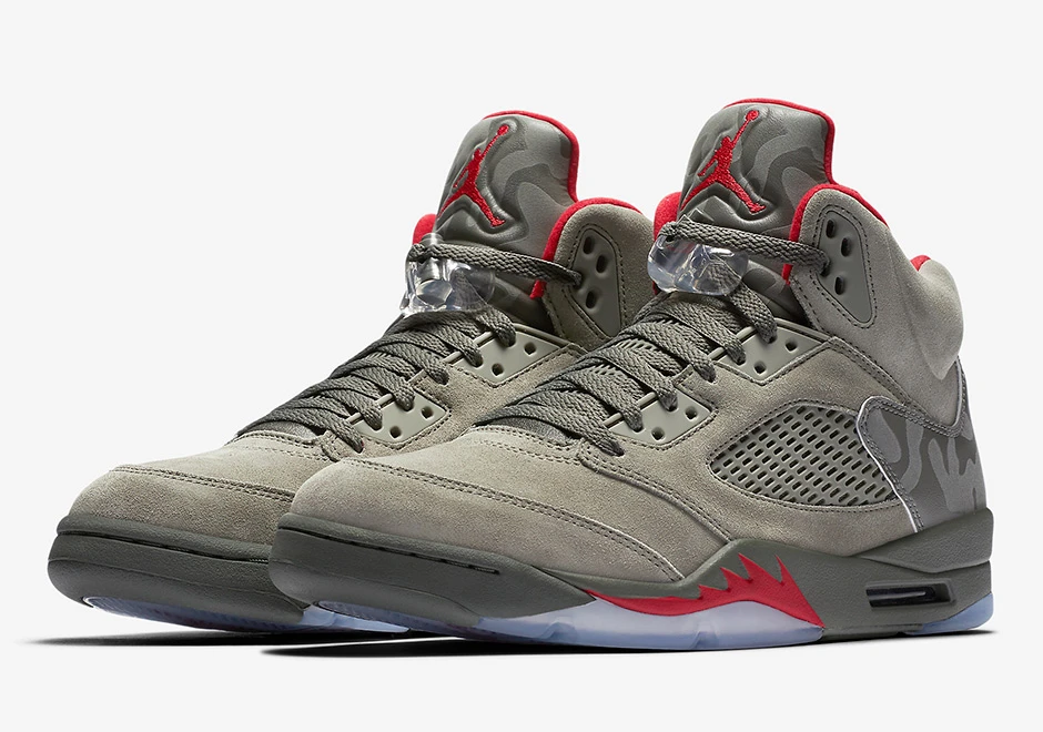 Nike Air Jordan 5 V Retro Shoes Dark