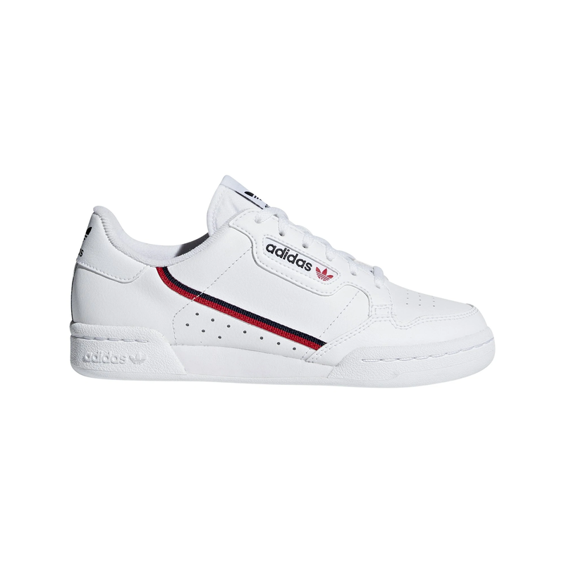 Details about adidas Originals Continental 80 Junior - White/Red