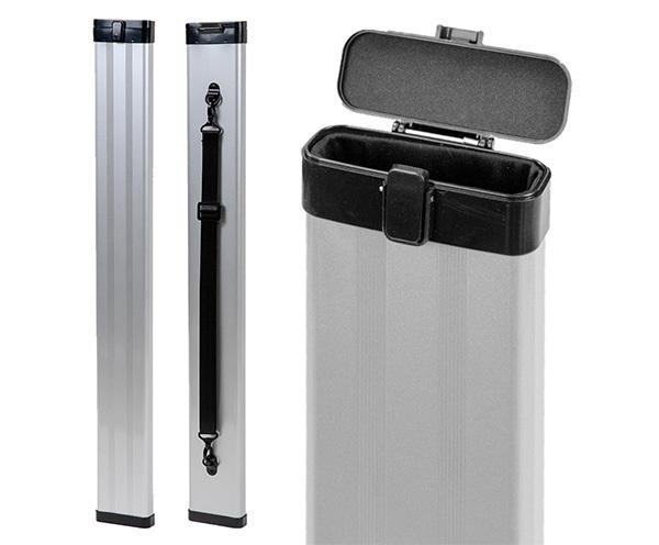TG Aluminium Single Bow Case Silver